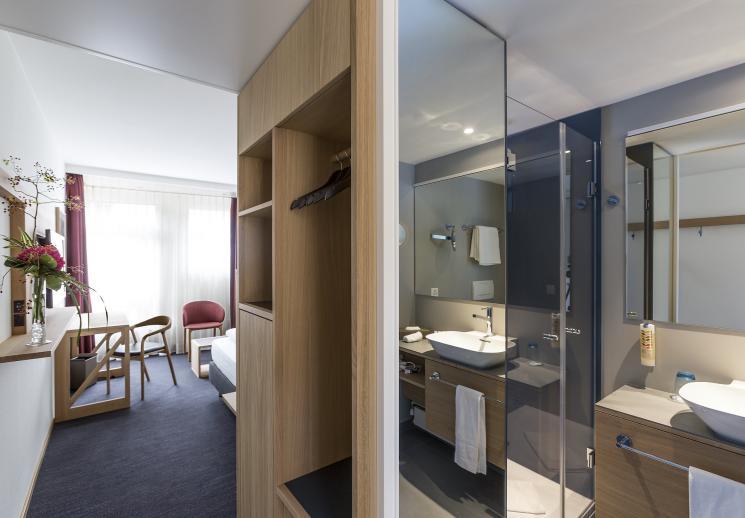 Modern einzel hotel basel